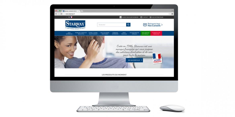 Aperçu site Starwax | Agence web Lem