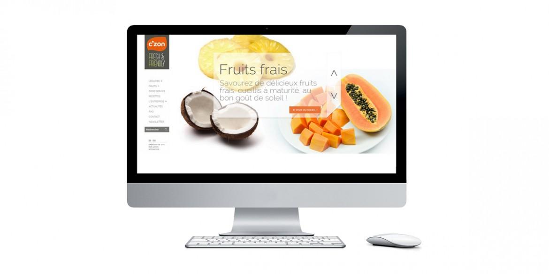 Aperçu site client C'zon | Agence web Lemon Interactive