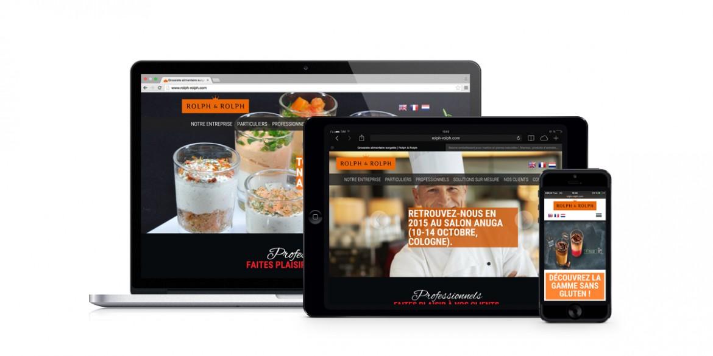 Aperçu site Responsive Rolph&Rolph| Agence web Lem