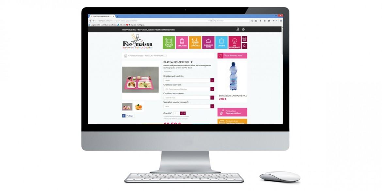 Aperçu site client Fée Maison | Agence web Lemon Interactive