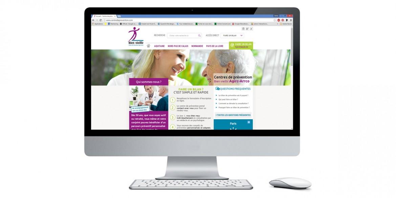 Aperçu site client Humanis | Agence web Lemon Interactive