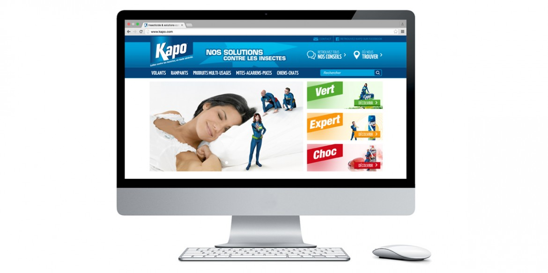 Aperçu site Kapo | Agence web Lemon Interactive