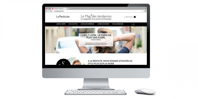Aperçu site Le Mag' des tendances | Agence web Lemon interactive