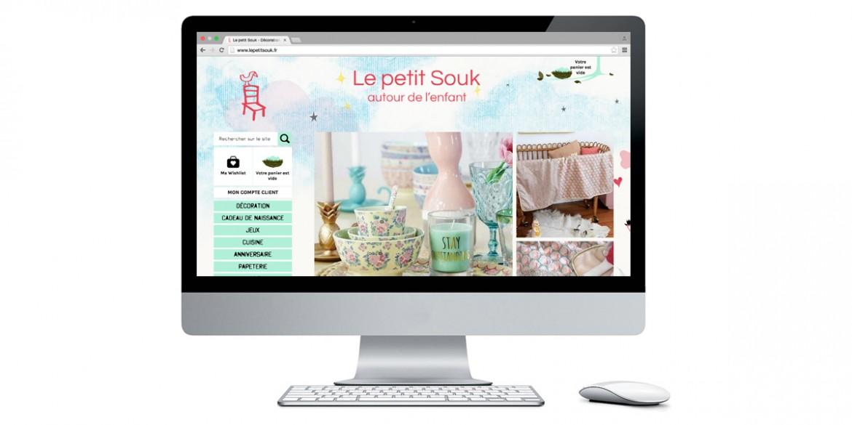 Aperçu Le Petit Souk | Agence web Lemon Interactive