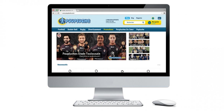 Logo Poupluche| Agence web Lemon Interactive