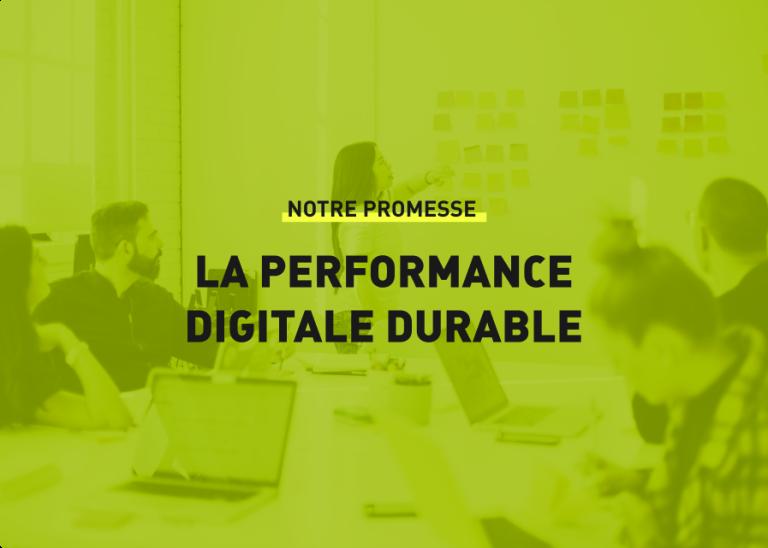La performance digitale durable